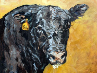 Buddy, the Angus Bull by Gail Dee Guirreri Maslyk
