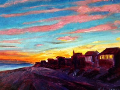 Atlantique Sunset by Sue Lyman