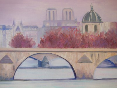 Paris, The Seine by Anne Block