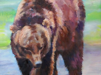 Grizzly Bear by Anne Block
