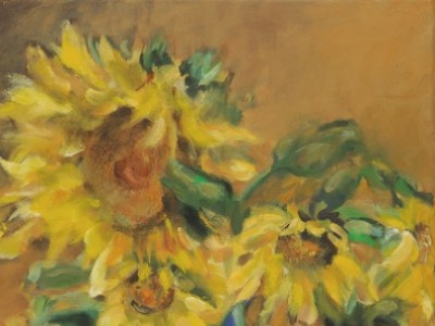 Sunflowers by Leslie Anthony