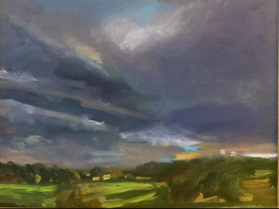 Storm Over Crooked Run by Marci Nadler