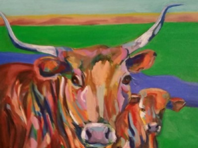 Gomer's Cows by Leslie Anthony