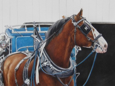 Fair Day-Blue Reins by Melinda   Brewer