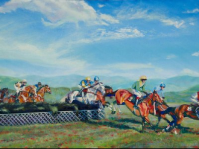 Steeplechase Zoetrope by Hollie   Berry