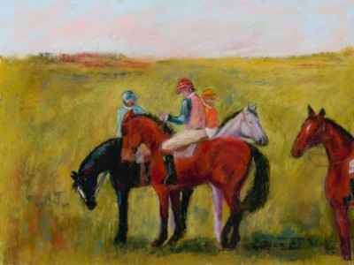 Four Horses by Nancy   Whitin
