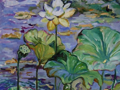 Lotus and Water Lilies, I