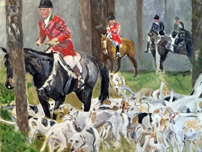 Live Oak Hounds by Denise   Boineau