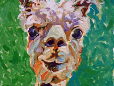 First Shear, Alpaca I by Gail Dee Guirreri Maslyk