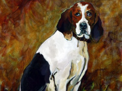 The Hunting Hound, V by Gail Dee Guirreri Maslyk