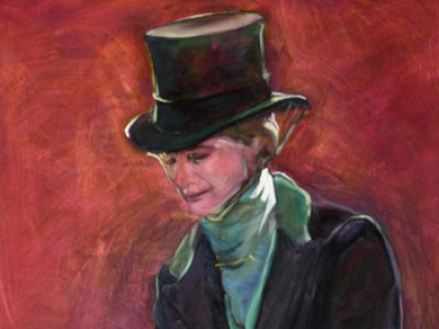 Sidesaddle Portrait, I by Gail Dee Guirreri Maslyk