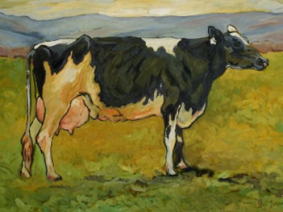 The Dairy Cow, I by Gail Dee Guirreri Maslyk