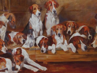 New Forrest Hounds aft Emmes by Dolly Buswell