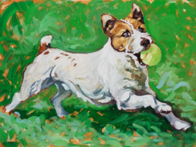 The Jack Russell by Gail Dee Guirreri Maslyk