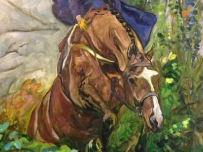 Meath Sidesaddle Portrait, II