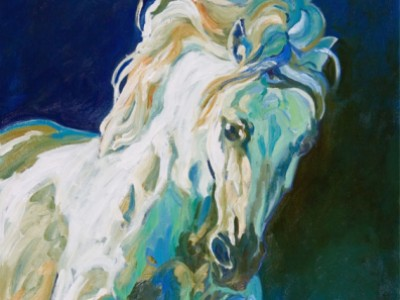 Andalusian Study, I by Gail Dee Guirreri Maslyk