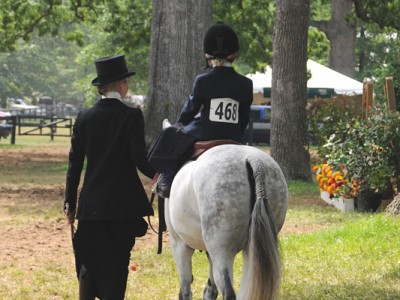 Upperville Horse Show - Lead Line by Liz Callar