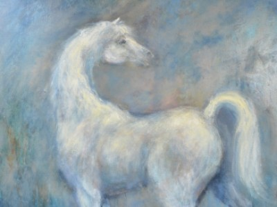 Grey Horse by Jill Garity