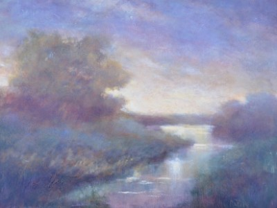 Daybreak At Water's Edge by Jill Garity