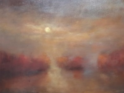 Autumn Moon by Jill Garity