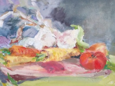 Vegetable Study by Barbara A. Sharp
