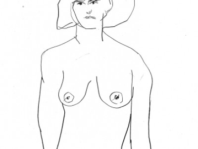 Figure Study, Feminine VIII by Barbara A. Sharp
