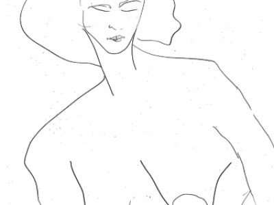 Figure Study, Feminine IX by Barbara A. Sharp