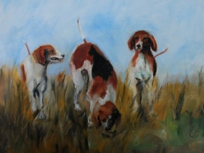 Three Hounds by Cody Leeser